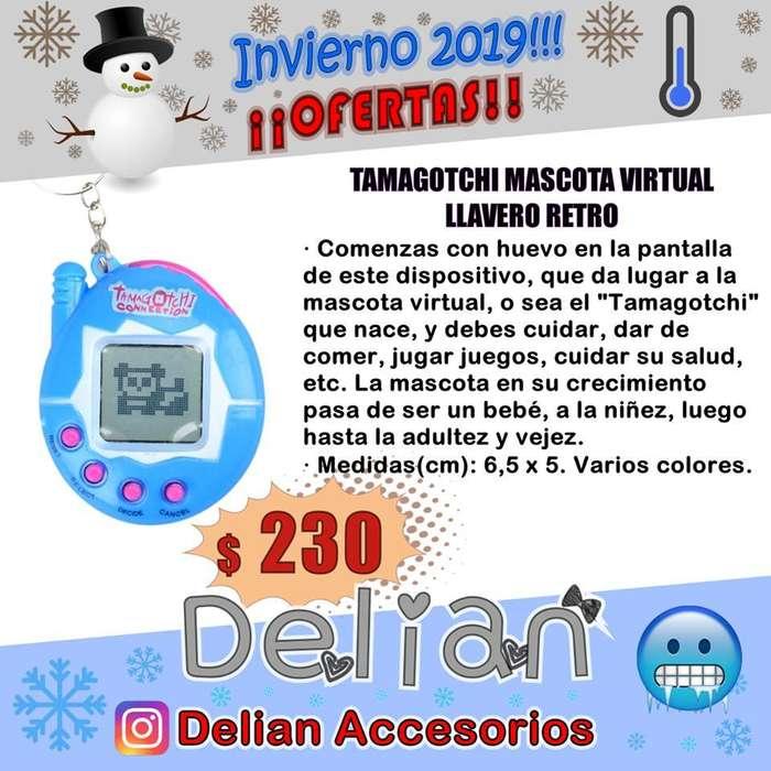 Tamagotchi Mascota Virtual Llavero Juguete Retro 90's