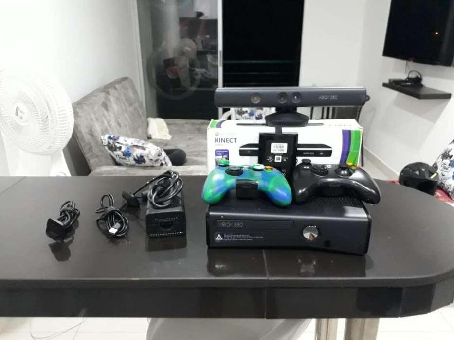 Xbox 360 Super Slim 5.0 con Kinect Nuevo