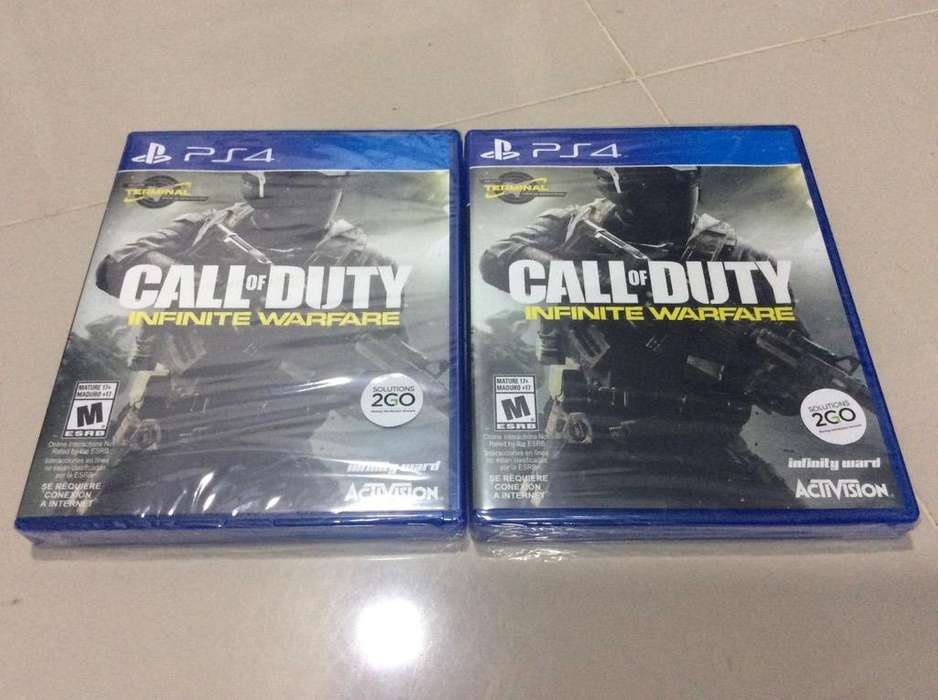 Call Of Duty Infinity Warfare Nuevo Ps4