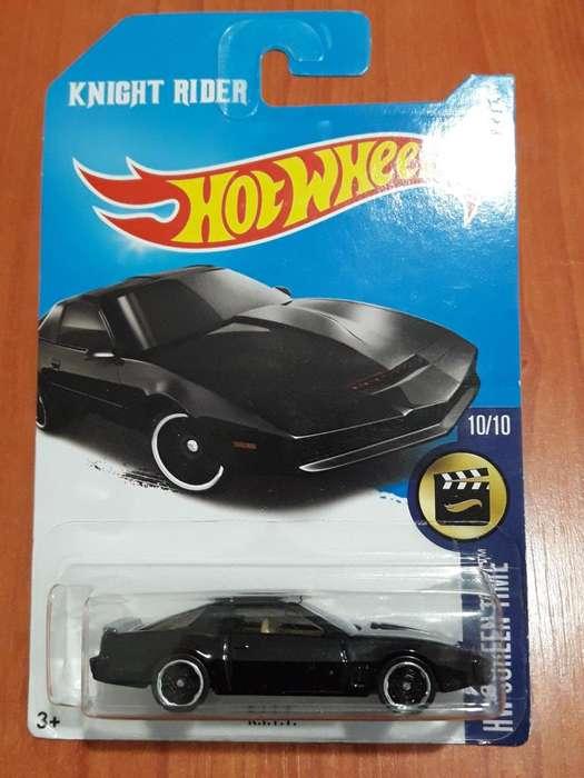 Auto Fantastico Knight Rider / Kitt Hot Wheels Nuevo Cerrado