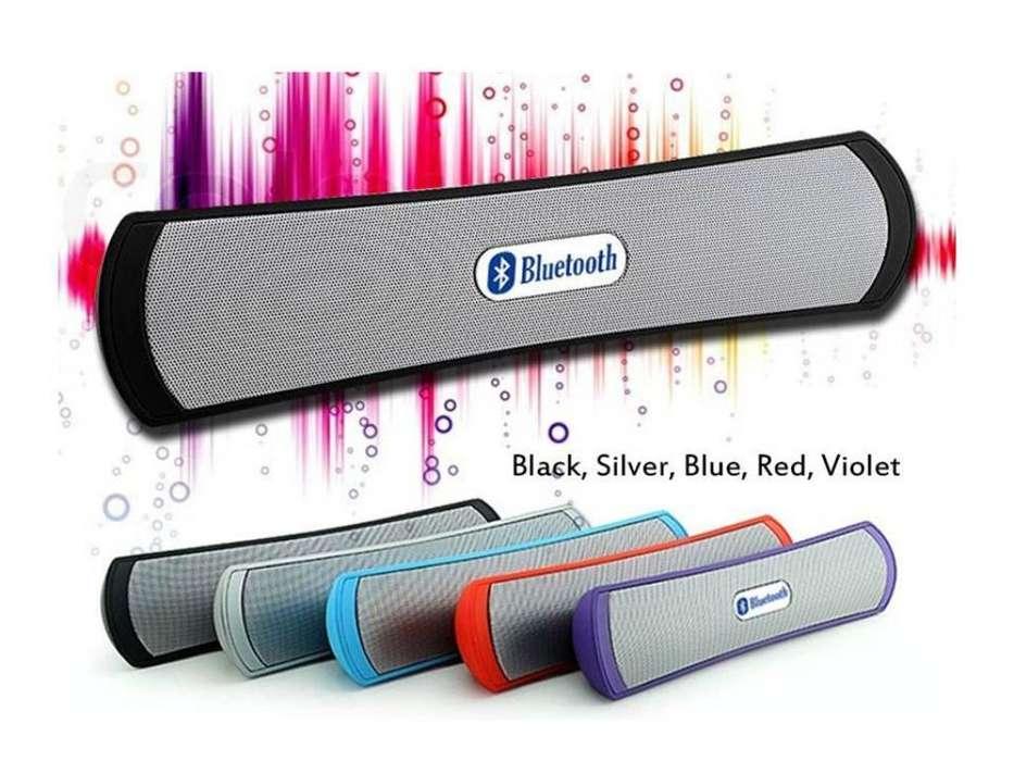 Parlante Bluetooth Pendrive Y Sd Card