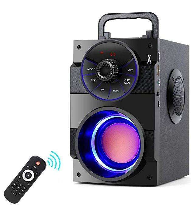 Parlante Tamproad Bluetooth Radio Fm, Usb, Auxiliar,con Bajo