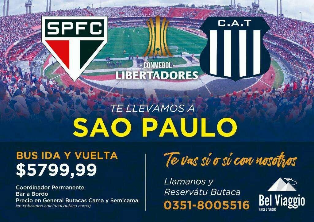 Vendo Viaje a Sao Pablo