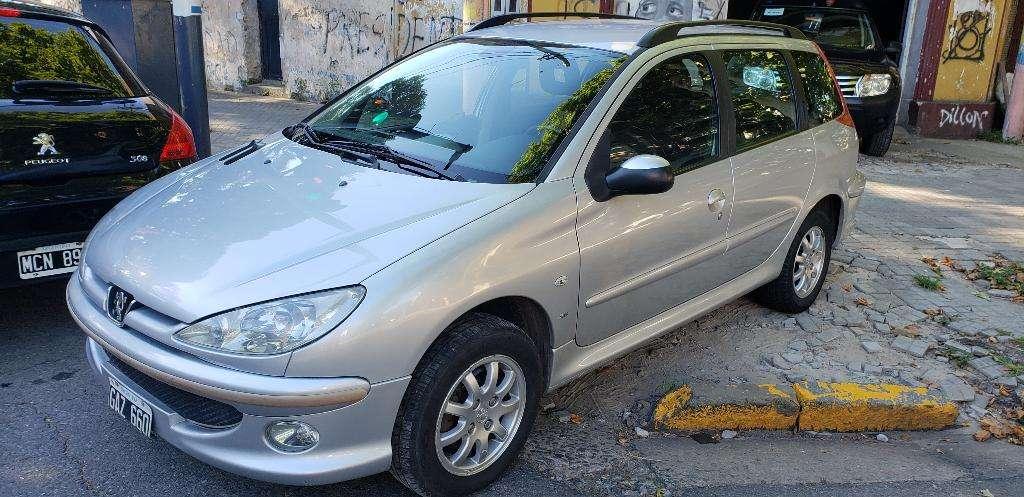 Peugeot 206 Sw Premium 1.6l