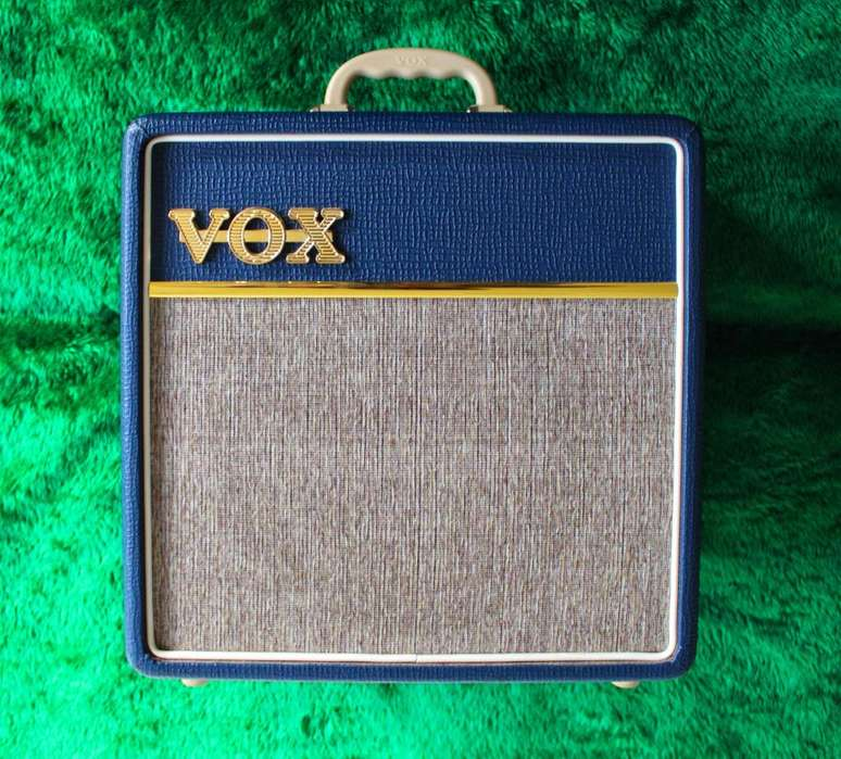 Amplificador Valvular Vox AC4C1BL Azul de 4 watts