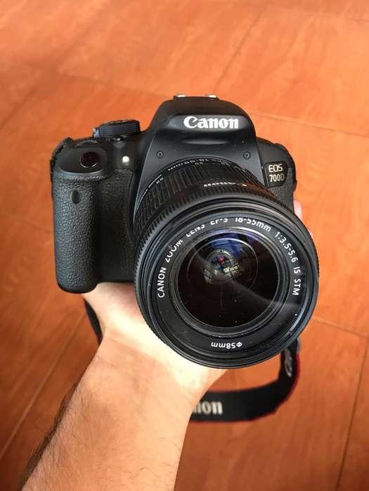 Camara Profesional Canon Eos 700D