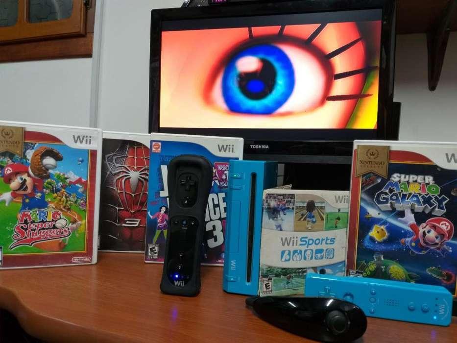 Nintendo Wii 3 Controles 5 Juegos Origin