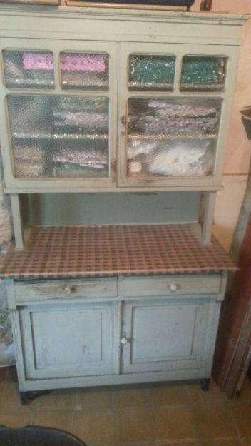 mueble antiguo aparador fiambrera de campo