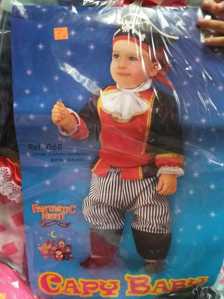 Se Vende Disfraz de Pirata Talla 12-18 M