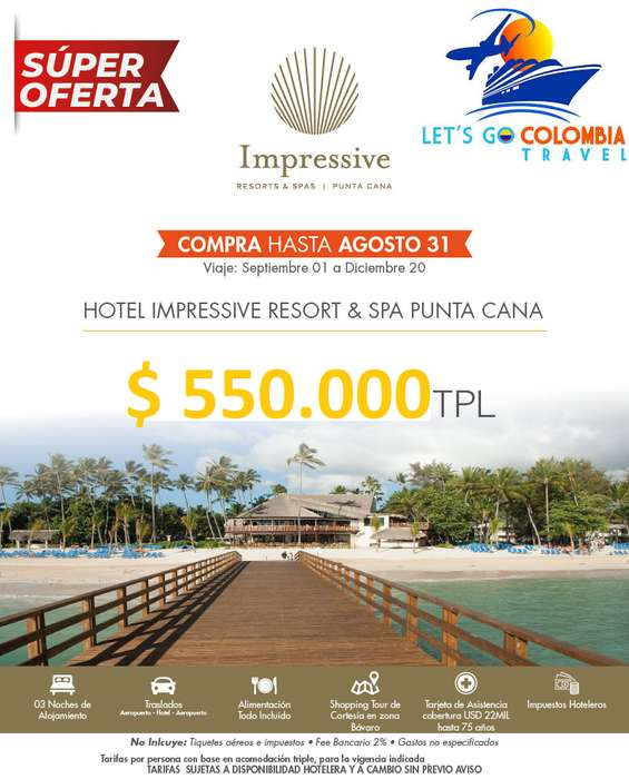 Super Oferta Punta Cana