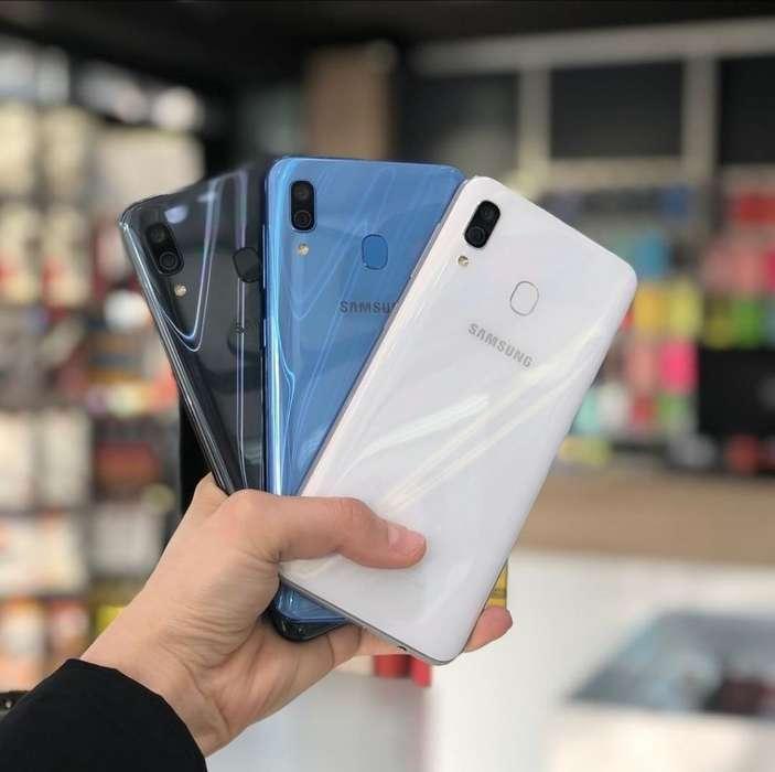 Samsung A30 64gb Sellados Garantía 1 Año