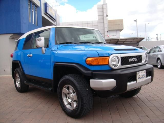 Toyota Fj Cruiser 2008 Flamante