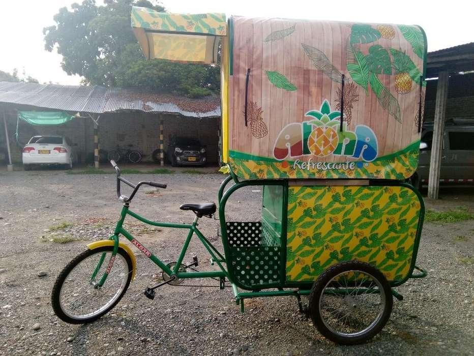 Triciclo de Ventas de Frutas!