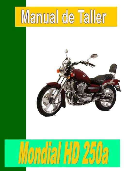 Mondial HD 250 <strong>manual</strong> taller