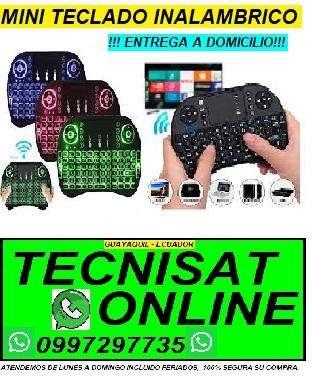 MINI TECLADO INALAMBRICO IDEAL PARA SU TV, TV BOX, TVBOX, SMARTV, PC, LAPTOS, TABLET, ETC