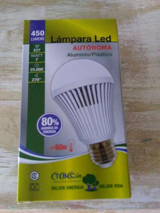 Lámpara Led Autónoma