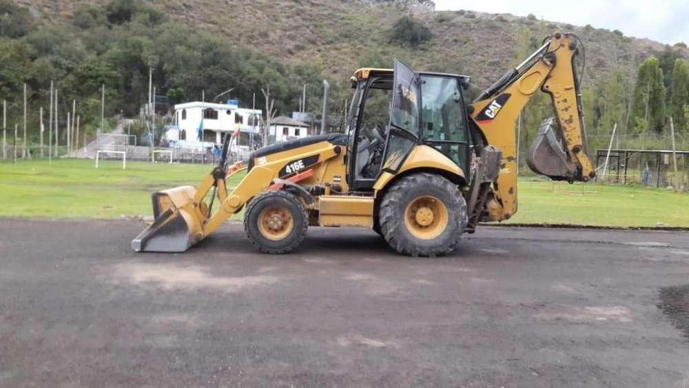 Vendo Retroescabadora Caterpillar 416E año 2012