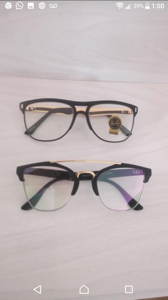 Gafas Trasparentes Varios Modelos