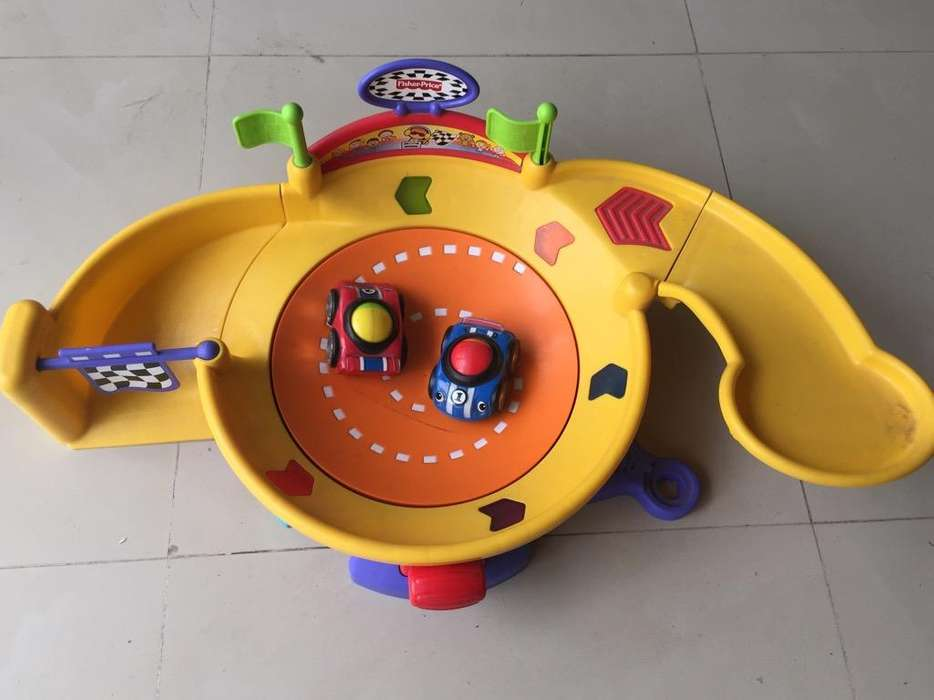 Pista de Carros Americana Fisher Price