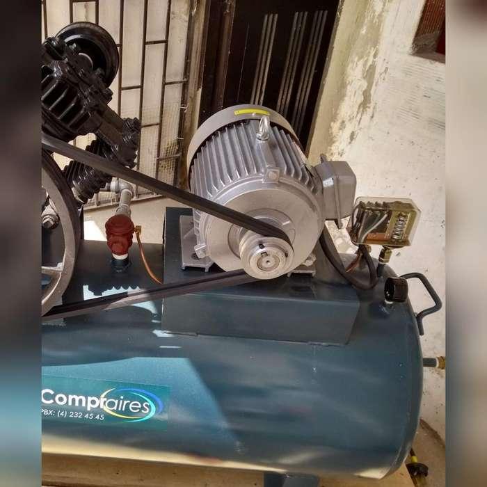 Vendo Motor Trifasico de 10 Hp a 3600rpm