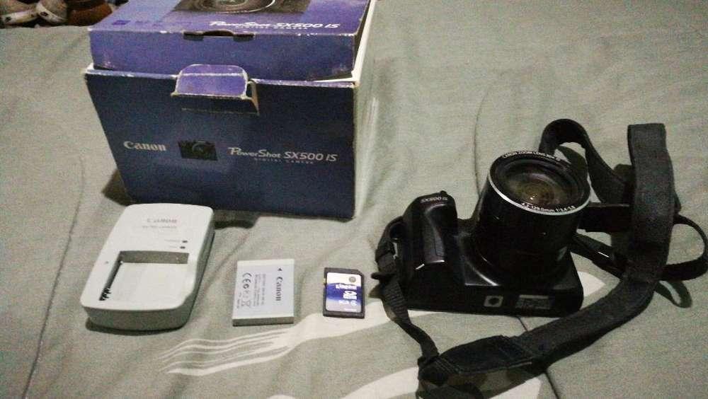 Camara Canon Sx500is Muy Buena
