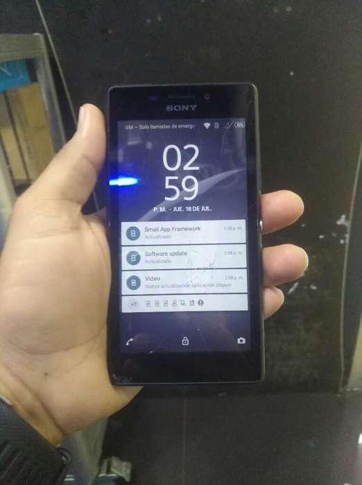 Sony M2 Fisurado. Funciona Full