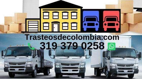 Trasteos Tel: 3193790258 Traslados de casas y apartamentos.