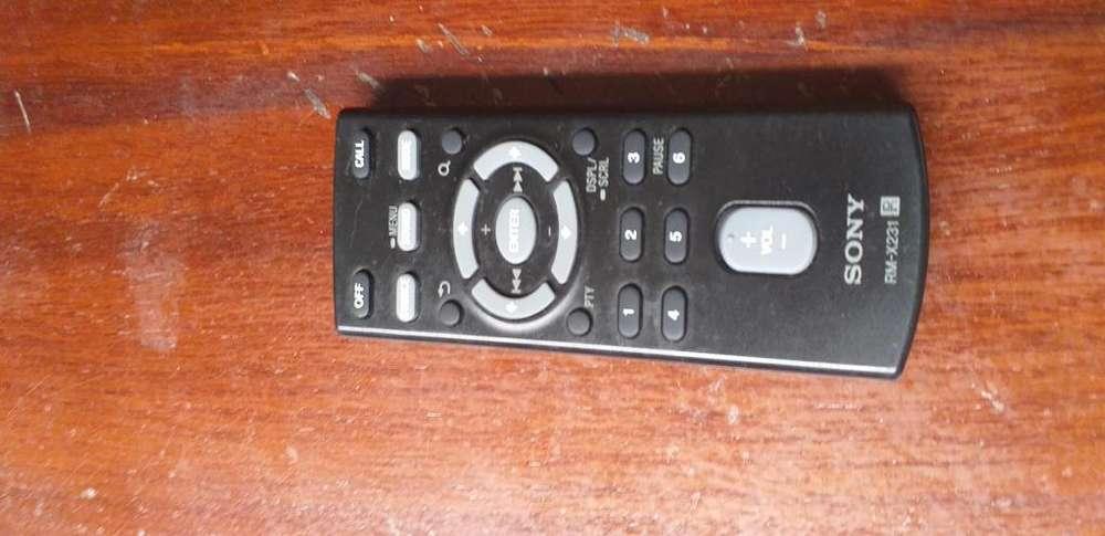 Control para radio Sony
