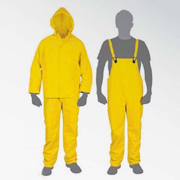 <strong>traje</strong> de agua impermeable. Talle L.