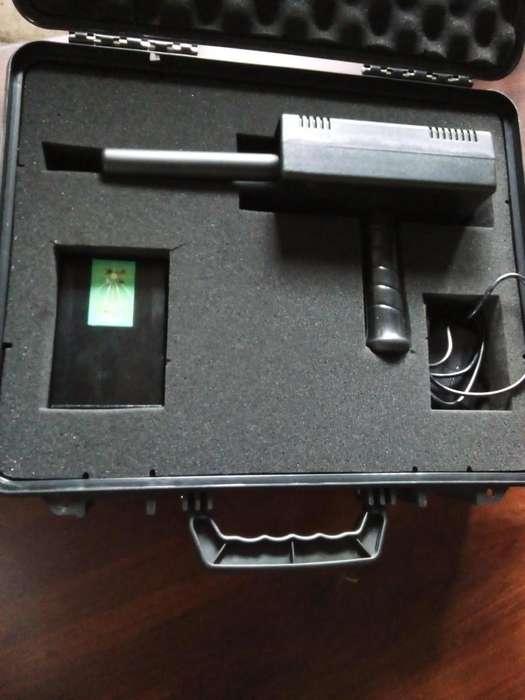 Detector de metal 100 metros distancia 20 profundidad