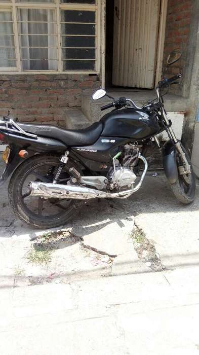 Honda Cb 125 Seguro Al Dia...