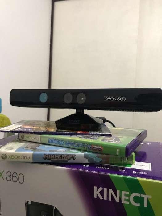 Kinect Xbox 360 2 Juegos