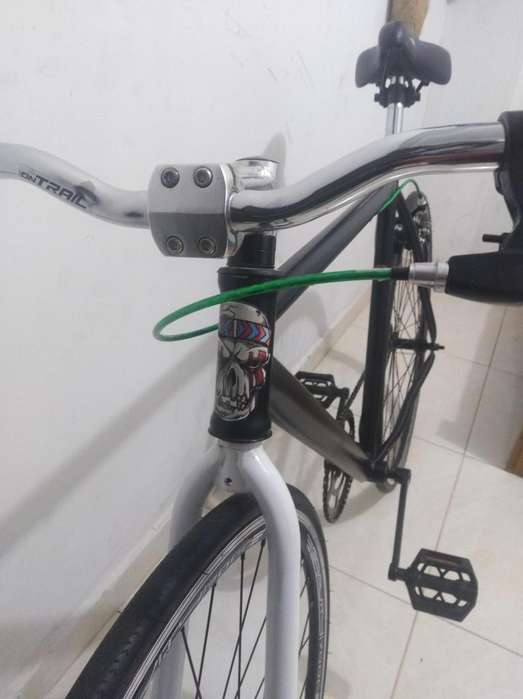 bicicleta fixie fixed negro mate