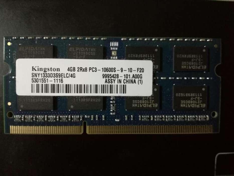 Kingston <strong>memoria</strong> Ram DDR3 de 4GB