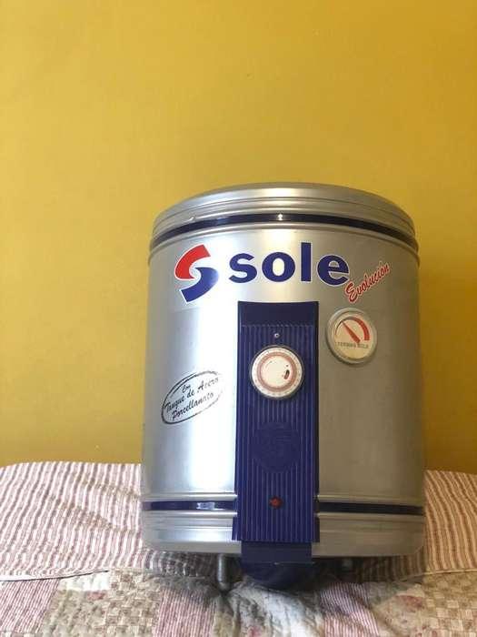 Terma Sole Evolución c/tanque de Acero Porcelanato