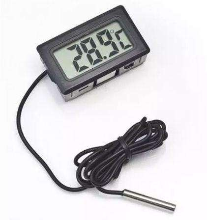 Termometro Temperatura Digital Incubadora Acuario Refrigeradora