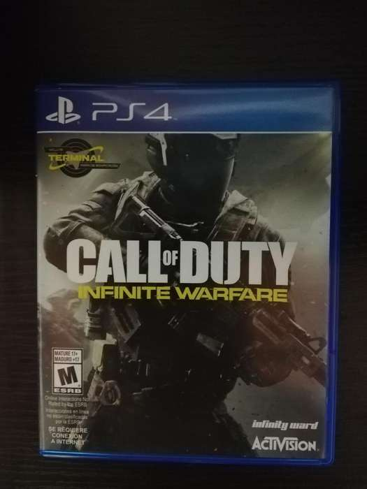 Cod Infinite Warfare con Codigo