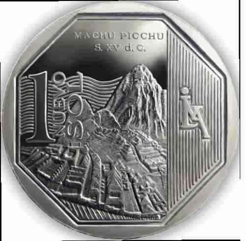 moneda machupicchu un nuevo sol colección Perú