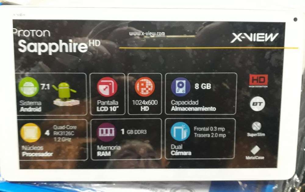 Tablet X View 10''