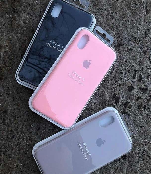 Silicone Case iPhone Todos Los Modelos