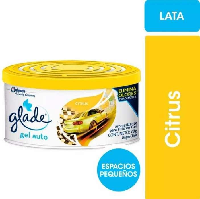 Glade Gel Auto Citrusaqua