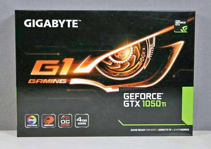 gtx 1050 ti G1 Gaming 4 gb