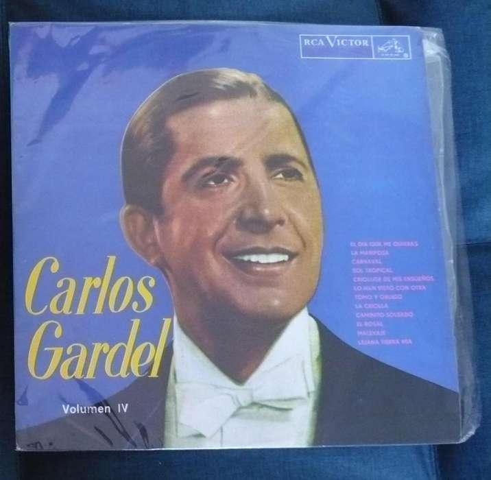Lp Carlos Gardel Volumen Iv Tango