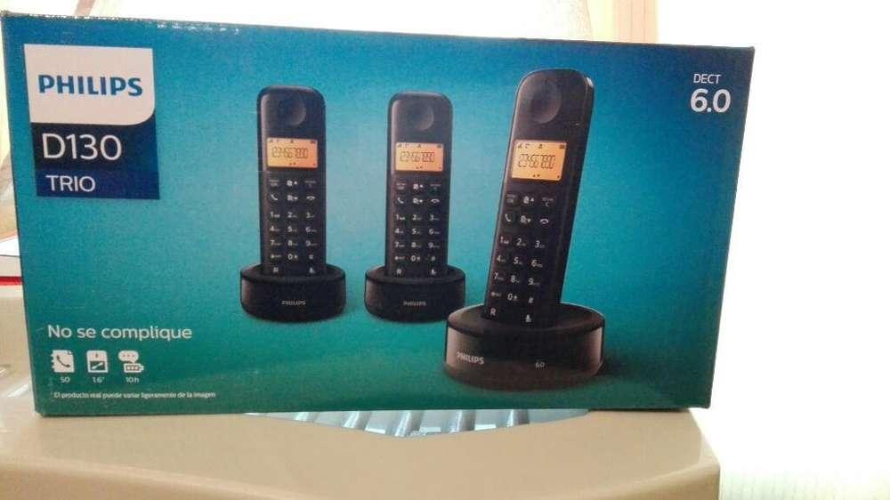 Teléfonos Philips Trío