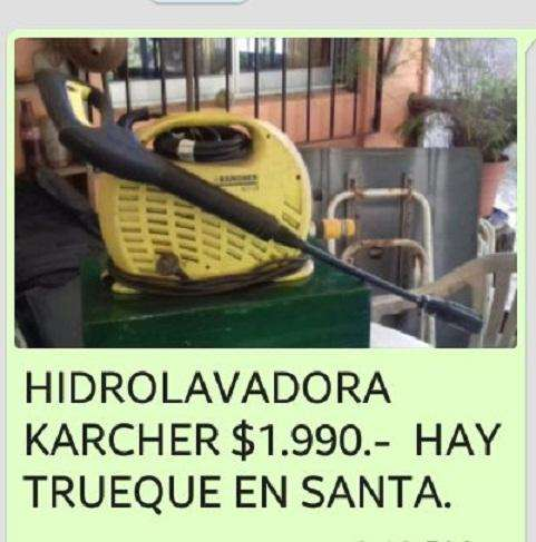 Hidrolavadora Karcher. Modelo K201. EXCELENTE ESTADO. MUY POCO USO