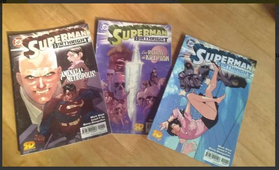 Comic sueltos Superman Batman Otros