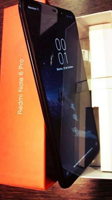 Xiaomi Redmi Note 6 Pro Dual Sim 64gb (Como Nuevo) pocos Meses