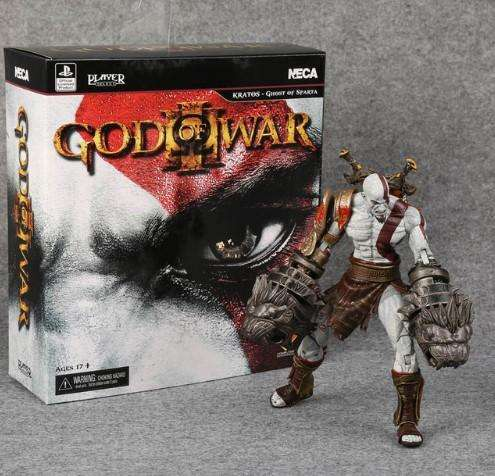 God Of War 3 Kratos Esparta Figura De Colección 22cm