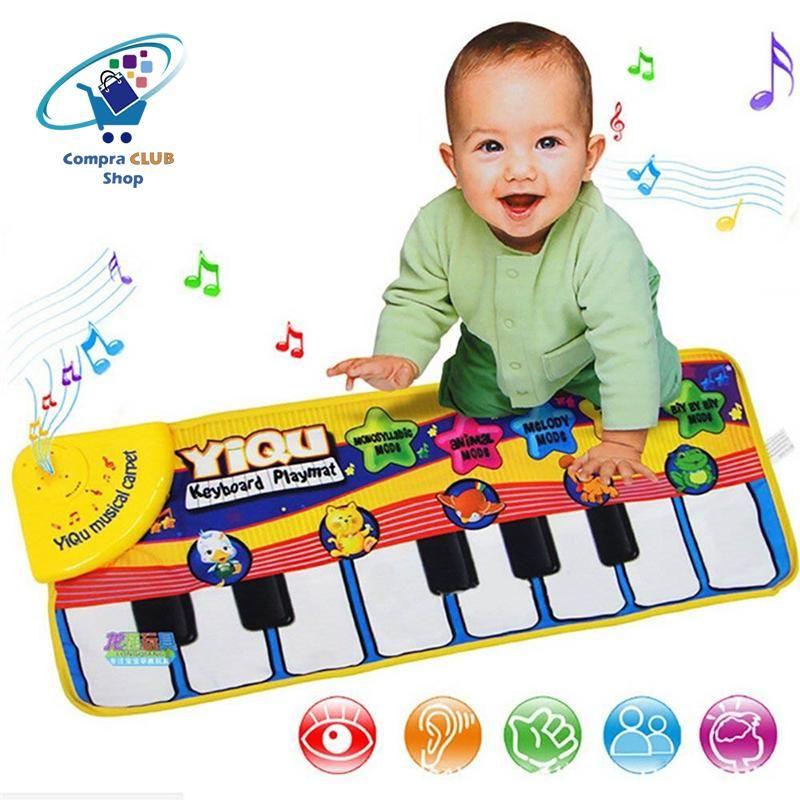 ALFOMBRA PIANO MUSICAL PARA NIÑOS PEQUEÑOS