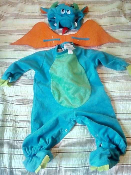 Hermoso disfraz dinky dragon